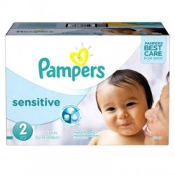 Pampers - Giga Pack 360 Couches New Baby Sensitive taille 2