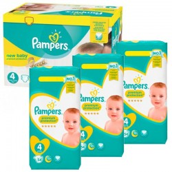 Pampers - Giga Pack 270 Couches New Baby - Premium Protection taille 4