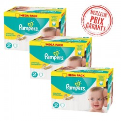 Pampers - Pack Jumeaux 720 Couches New Baby - Premium Protection taille 2 sur Les Couches