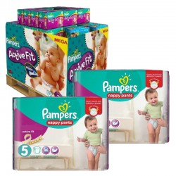 Pampers - Maxi Giga Pack 630 Couches Active Fit - Pants taille 5