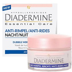 Diadermine Essential Care 50 ml Anti-Rides Nuit sur Les Couches