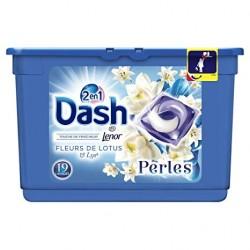 Dash Perles 19 Fleurs de Lotus & Lys 2en1 (501,6 gr) sur Les Couches