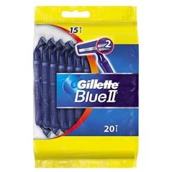 Gillette BlueII Rasoirs Jetables 20 pc. sur Les Couches