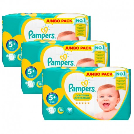135 Couches Pampers New Baby Taille 5 En Promotion Sur Les Couches