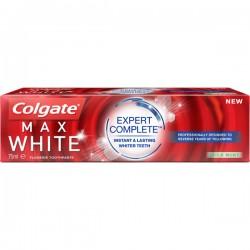 Colgate 75 ml Max White Expert Complete Mild Mint sur Les Couches