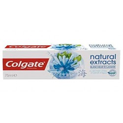 Colgate - Dentifrice Natural Extracts Blancheur Eclatante sur Les Couches