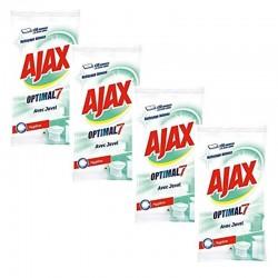 Ajax 200 Lingettes Optimal 7 avec Javel sur Les Couches