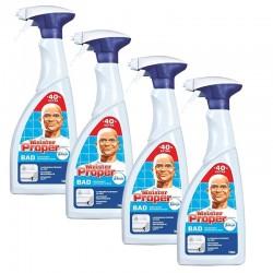 Meister Proper 4 Spray 700 ml Nettoyant Salle de Bains sur Les Couches