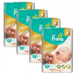 Pampers - Maxi Giga Pack 110 Couches Premium Care - Prima taille 2
