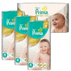 Pampers - Maxi Giga Pack 240 Couches Premium Care - Prima taille 4