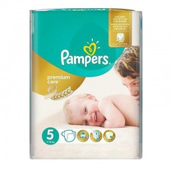 Pampers - Pack 60 Couches Premium Care - Prima taille 5 sur Les Couches