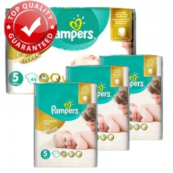 Pampers - Giga Pack 180 Couches Premium Care - Prima taille 5 sur Les Couches