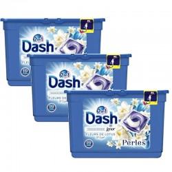Pack 3 Dash Perles 19 Fleurs de Lotus & Lys 2en1 sur Les Couches