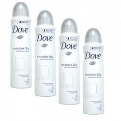 Dove - Lot 4 Deodorants Invisible Dry sur Les Couches