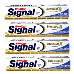 Signal - Lot 4 Dentifrices Integral 8 Complet sur Les Couches