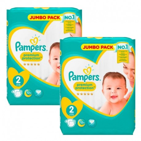 Pampers - 136 Couches new baby - premium protection taille 2 sur Les Couches