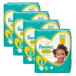 Pampers - Mega Pack 240 Couches new baby - premium protection taille 5 sur Les Couches