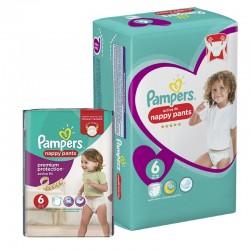 Giga Pack 112 Couches Pampers Active Fit Pants sur Les Couches