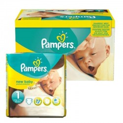 Pampers - Pack 96 Couches new baby - premium protection taille 1 sur Les Couches
