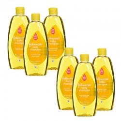 Pack de 6 Shampooings doux bébé Johnson 300 ml sur Les Couches