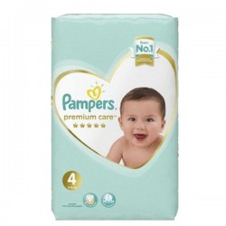 Pampers - Pack 34 Couches New Baby Premium Care taille 4 sur Les Couches