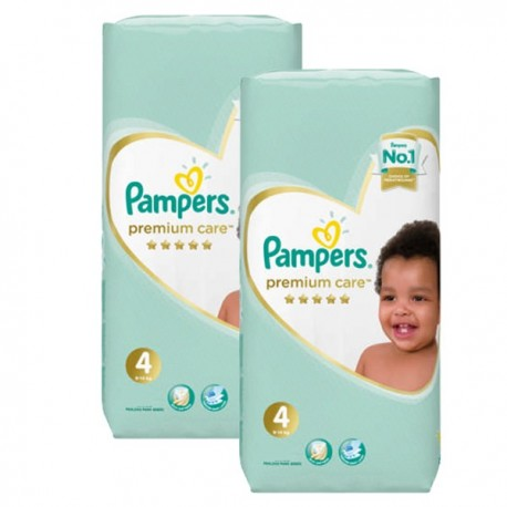 Pampers - Mega pack 136 Couches New Baby Premium Care taille 4 sur Les Couches