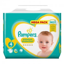 Pampers - Pack 82 Couches New Baby Premium Protection taille 4 sur Les Couches