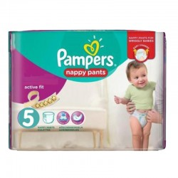 Pampers - Pack 40 Couches Active Fit Pants taille 5 sur Les Couches