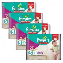 Pampers - Maxi Pack 160 Couches Active Fit Pants taille 5 sur Les Couches