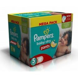 Pampers - Giga pack 234 Couches Baby Dry Pants taille 5
