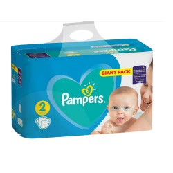 Pampers - Pack 94 Couches Active Baby Dry taille 2 sur Les Couches
