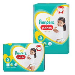Pampers - Giga pack 200 Couches Premium Protection Pants taille 5 sur Les Couches