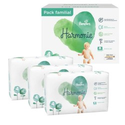 Pampers - Pack 95 Couches Harmonie taille 4