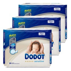 Dodot - Mega pack 144 Couches 0 taille 0 sur Les Couches