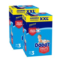 Dodot - Maxi mega pack 444 Couches 0 taille 3 sur Les Couches