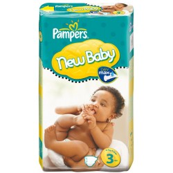 Pampers - Pack 68 Couches New Baby Premium Protection taille 3 sur Les Couches