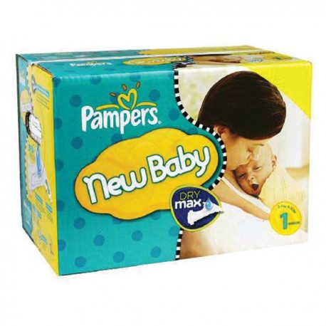 Pampers - Mega pack 112 Couches Premium Protection taille 1 sur Les Couches