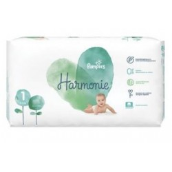 Pampers - Pack 68 Couches Harmonie taille 1 sur Les Couches