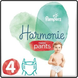 Pampers - Pack 58 Couches Harmonie Pants taille 4 sur Les Couches