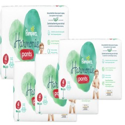 Pampers - Pack jumeaux 522 Couches Harmonie Pants taille 4 sur Les Couches