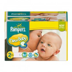 Pampers - 288 Couches Baby Dry taille 2