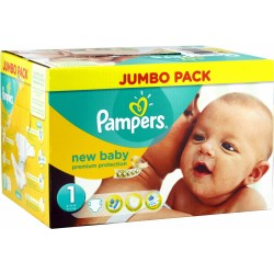 Pampers - 280 Couches New Baby taille 1 sur Les Couches