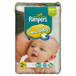 LesCouches Pack 56 couches Pampers New Baby