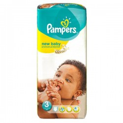 Pampers - Pack 20 Couches New Baby Premium Protection taille 3 sur Les Couches