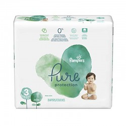 Pampers - Pack 22 Couches Pure Protection taille 3 sur Les Couches