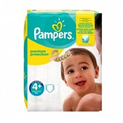 Pampers - Pack 50 Couches New Baby Premium Protection taille 4+ sur Les Couches