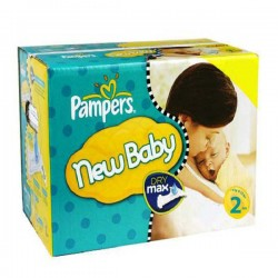 Pampers - Giga pack 217 Couches New Baby Premium Protection taille 2