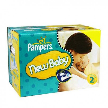 Pampers - Maxi giga pack 310 Couches New Baby Premium Protection taille 2 sur Les Couches