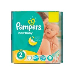 Pampers - Pack 80 Couches New Baby Premium Protection taille 2 sur Les Couches