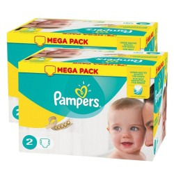 320 Couches Pampers New Baby Premium Protection taille 2 sur Les Couches